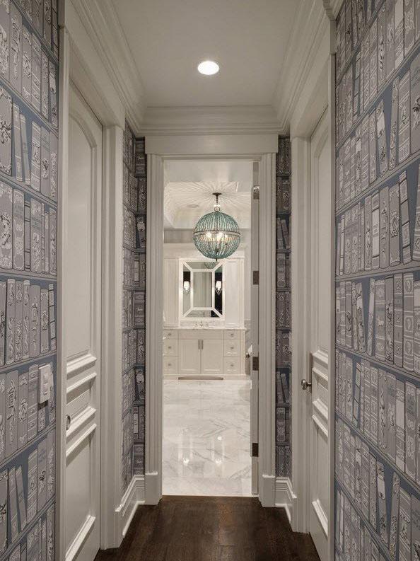 фотообои для узкого коридора
