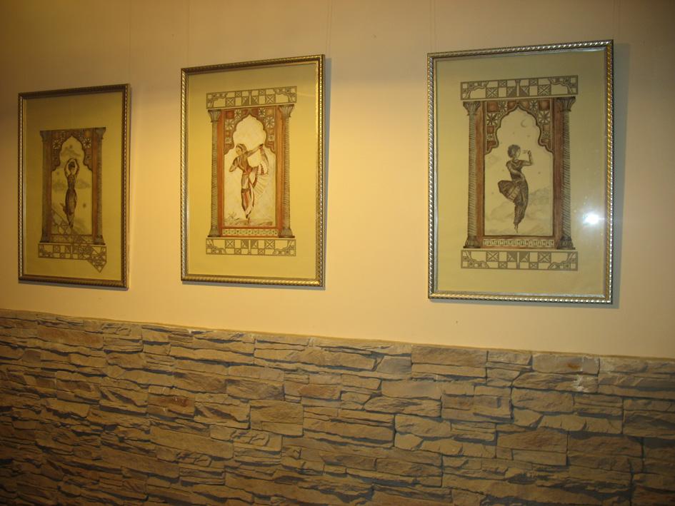 гармония картин с интерьером