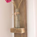ключница с полкой для вазы