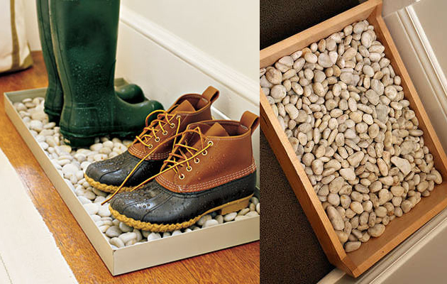 подставка для обуви с наполнением