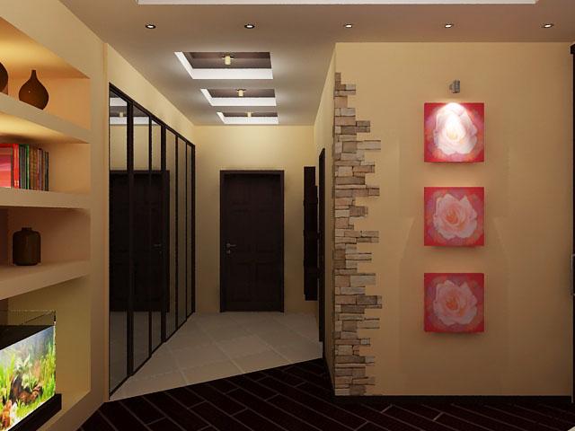 подсветка для картин в коридоре