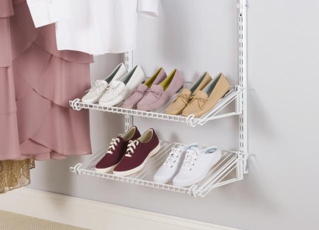 полки для обуви настенные