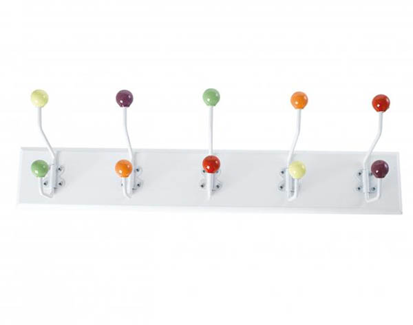 вешалка с крючками в виде шариков