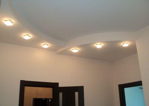 Гипсокартонный потолок в несколько уровней