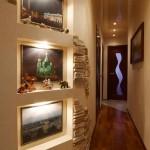 Маленький коридор и устройство освещения