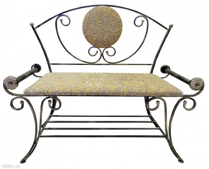 Металлический диван Итака