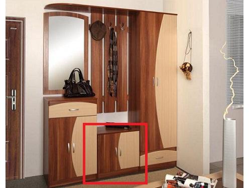 Модульная мебель с тумбой
