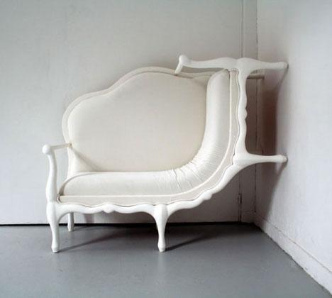 Оригинальный угловой диван в прихожую