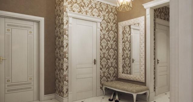 коридор обои фото