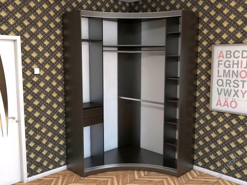 Шкаф купе для углового размещения