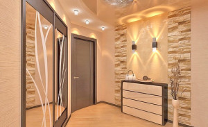 Светильники в дизайне прихожей