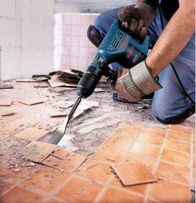 Удаление старого напольного покрытия