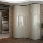 Шкаф угловой для прихожей, дизайн идеи в фото
