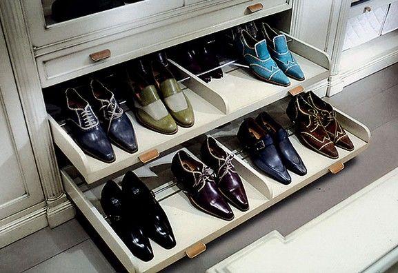 Полка для обуви в шкаф