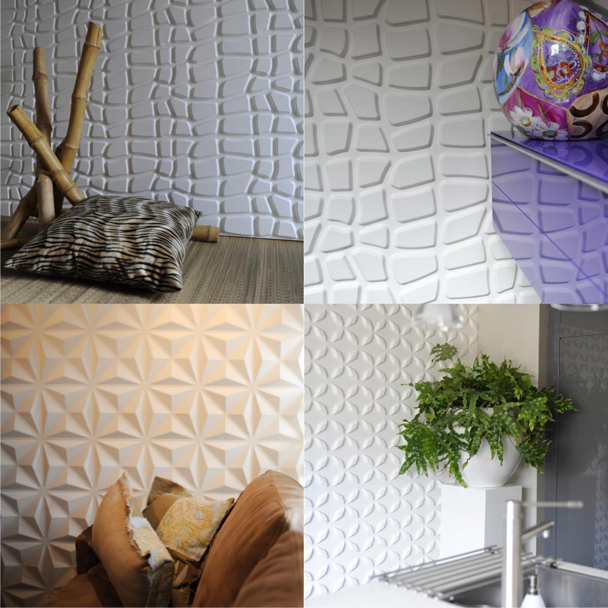 3-D панели для стен