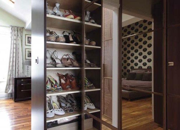 Функциональный шкаф под обувь в прихожую