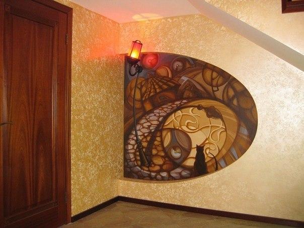Идея росписи стены