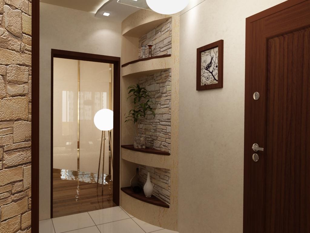 Интерьер прихожей в малогабаритной квартире