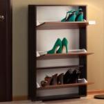 Компактная обувница в прихожую
