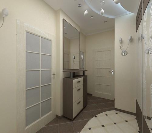 Мебель для узкого коридора прихожей