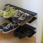 Небольшая открытая обувница