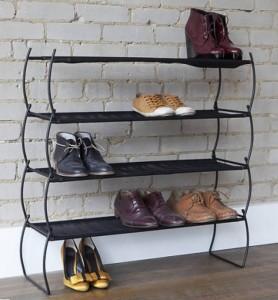 Открытый тип обувницы