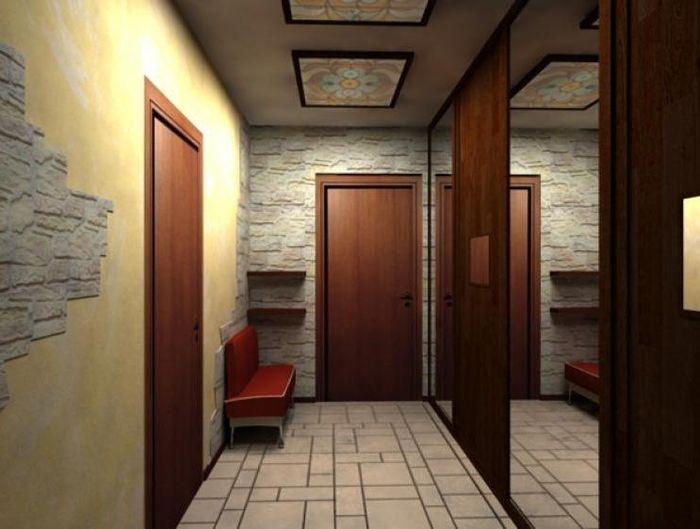 Шкаф купе в коридор хрущевки