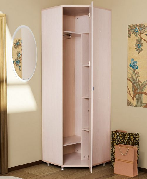 Шкаф в маленький коридор