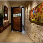 Варианты отделки стен в прихожей, фото вариантов