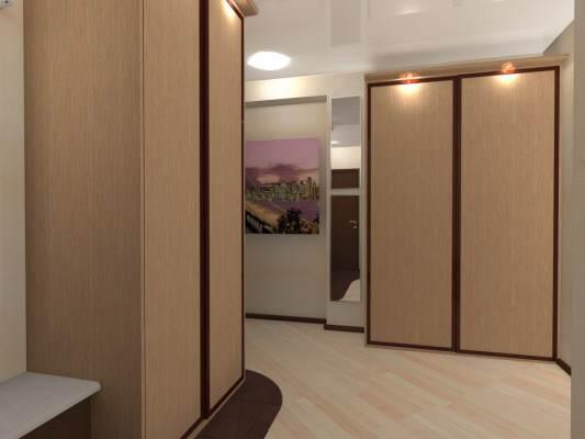 Встроенный шкаф купе в прихожую, прихожие купе в коридор