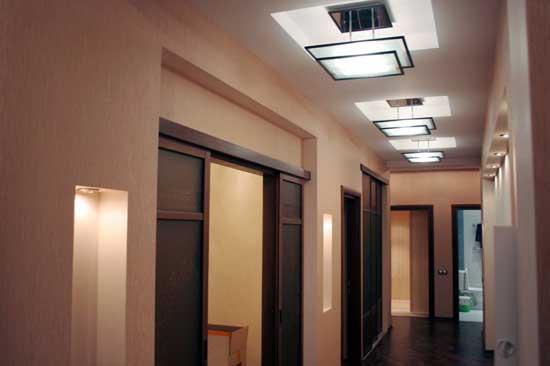 Выбор освещения для помещения различной конфигурации