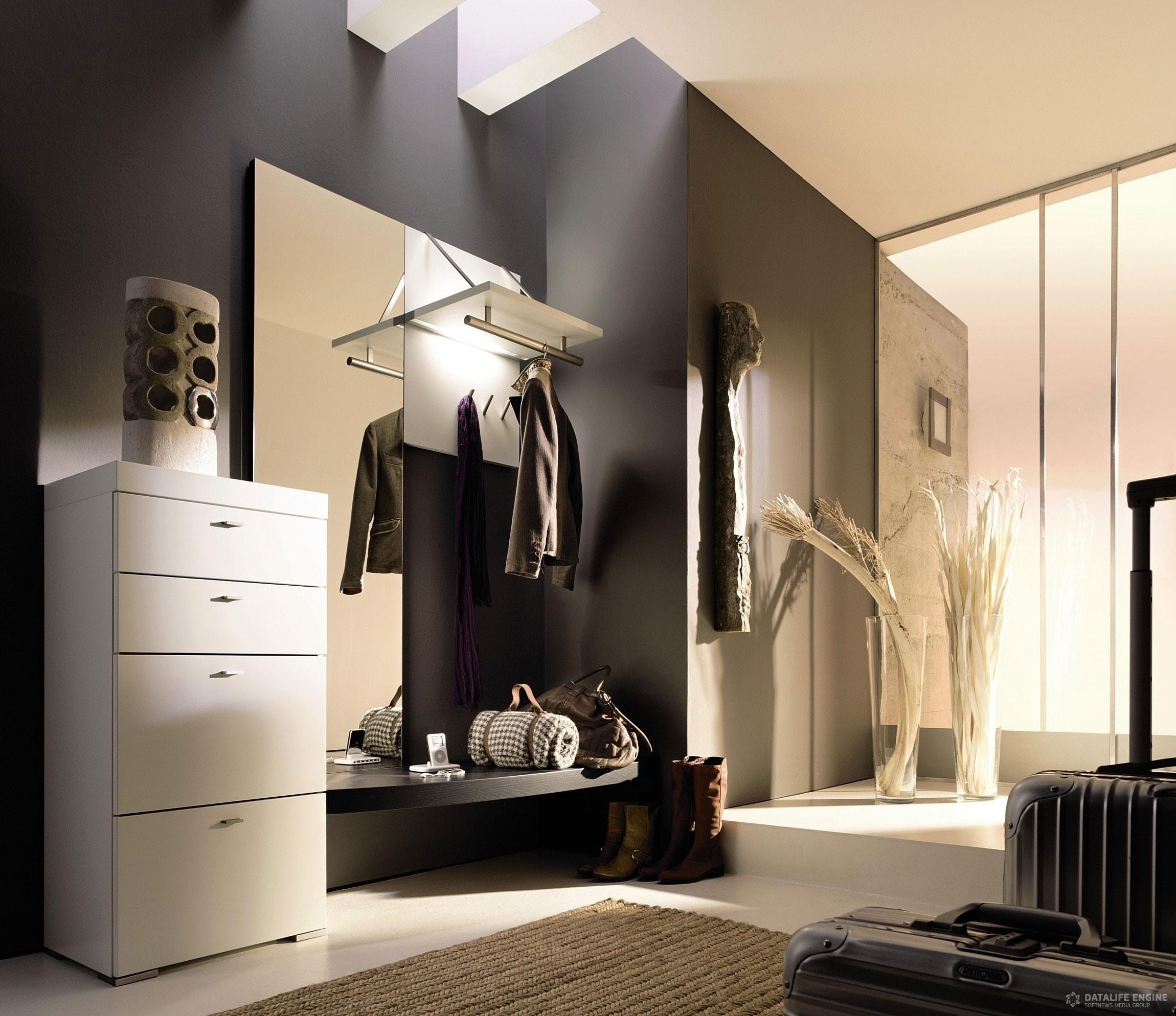Прихожая мебель современная для маленького коридора