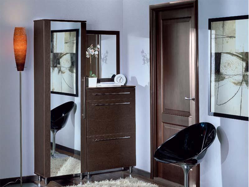 Расположение зеркал в прихожей