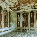 Ренессанс стиль с художественной росписью для прихожей
