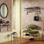 Необычная металлическая мебель для прихожей в соврменном стиле ренессанс