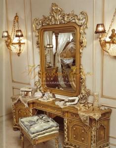 Старинная мебель для стиля ренессанс с позолотой для прихожей