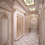 Прихожая в стиле барокко: динамика и богатство
