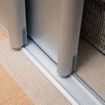 Алюминиевый профиль для дверей шкафа купе