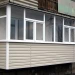 Преимущества винилового сайдинга для обшивки балкона