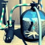 Фильтр для бассейна с использованием песка