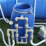 Фильтр для качественной очитки воды в бассейне от грязи