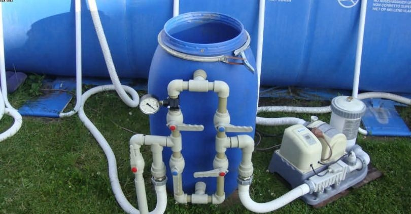 Фильтр для воды на даче своими руками