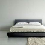 Кровать без ножек для стиля хай-тек