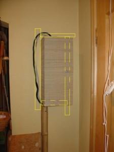 Место для расположения и скрытия в прихожей электрического счетчика