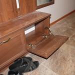 Место в шкафу в прихожей для скрытия счетчика