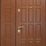 Металлическая дверь входная с глазком