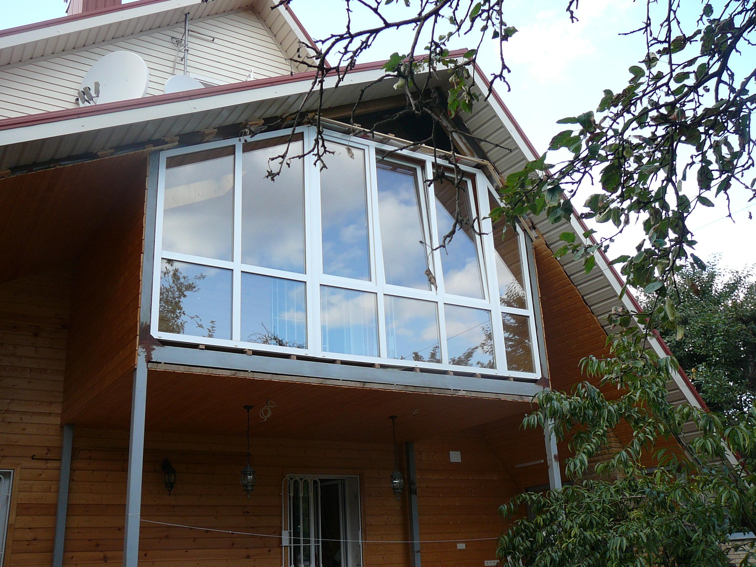 Балконные окна гранд фасад.