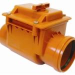 Обратный клапан для исполльзования в канализационной системе