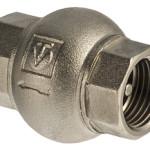 Обратный клапан имеющий латунный золотник