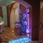 Оригинальная подсветка комнаты и входной двери